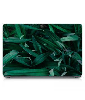 """Универсальная наклейка на ноутбук 15.6""""-13.3"""" Зелень Матовый 380х250 мм"""