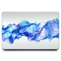 "Универсальная наклейка на ноутбук 15.6""-13.3"" Синяя дымка Матовая 380х250 мм"