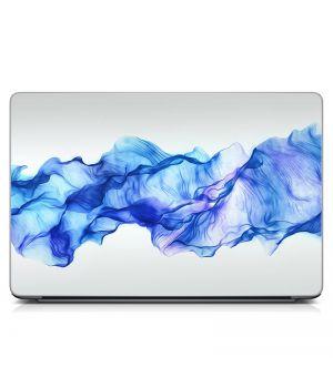 """Універсальна наклейка для ноутбука 15.6""""-13.3"""" Синя димка Матова 380х250 мм"""