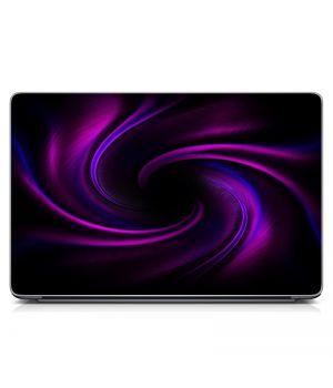 """Универсальная наклейка на ноутбук 15.6""""-13.3"""" Шелковые волны Матовая 380х250 мм"""