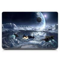 Виниловый стикер для ноутбука Future, space Матовый
