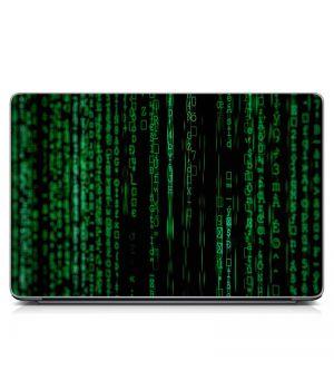 """Універсальна наклейка для ноутбука, 13.3""""-17.3"""" 400x260 мм Для програміста Матовий"""