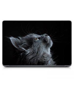"""Универсальная наклейка для ноутбука, 13.3""""-17.3"""" 400x260 мм Кот Матовый"""