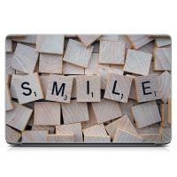 Стикер на ноутбук Буквы Smile Матовый