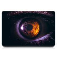 Виниловый стикер на ноутбук Глаз Матовый