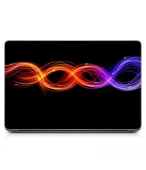 """Універсальна наклейка для ноутбука 15.6""""-13.3"""" 3Д Ефект Матова 380х250 мм"""