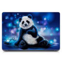 """Універсальна наклейка для ноутбука 15.6""""-13.3"""" Панда Матова 380х250 мм"""