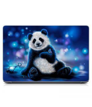 """Универсальная наклейка на ноутбук 15.6""""-13.3"""" Панда Матовая 380х250 мм"""