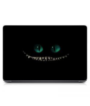 """Универсальная наклейка для ноутбука, 13.3""""-17.3"""" 400x260 мм Злобный монстрик Матовая"""