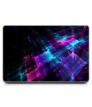 """Универсальная наклейка на ноутбук 15.6""""-13.3"""" Фантастическая абстракция Матовый 380х250 мм"""