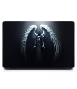 """Універсальна наклейка для ноутбука 15.6""""-13.3"""" Death angel Матова 380х250 мм"""