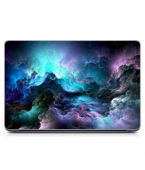 """Универсальная наклейка для ноутбука, 13.3""""-17.3"""" 400x260 мм Эффектная абстракция Матовый"""