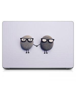 Стикер на ноутбук Сладкая парочка Матовый