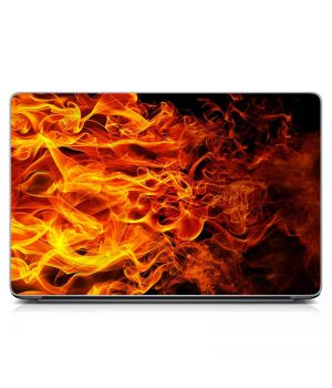 """Универсальная наклейка для ноутбука, 13.3""""-17.3"""" 400x260 мм Пламя Матовый"""