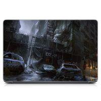 """Универсальная наклейка для ноутбука, 13.3""""-17.3"""" 400x260 мм Dark zone Матовый"""