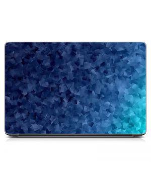 """Универсальная наклейка для ноутбука, 13.3""""-17.3"""" 400x260 мм Синий тон Матовая"""