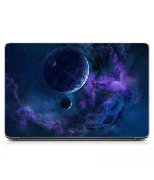 Виниловый стикер для ноутбука Планета Матовый
