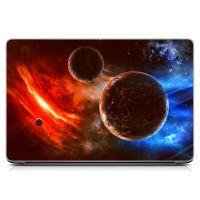 """Универсальная наклейка для ноутбука, 13.3""""-15.6"""" 380x250 мм Планеты Матовый"""