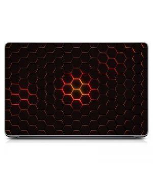 """Универсальная наклейка для ноутбука, 13.3""""-17.3"""" 400x260 мм Объемная текстура Матовый"""