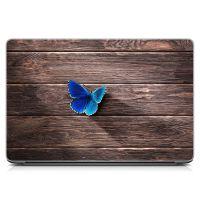Виниловый стикер для ноутбука 3D Бабочка Матовый