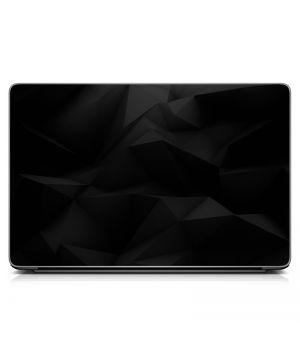 """Универсальная наклейка для ноутбука, 13.3""""-17.3"""" 400x260 мм Графит, абстракция Матовый"""