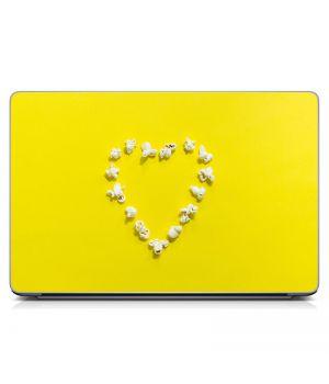 Стикер на ноутбук Попкорн Матовый