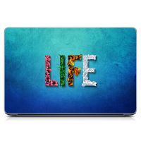"Универсальная наклейка на ноутбук 15.6""-13.3"" Life Матовый 380х250 мм"