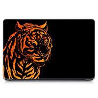"""Універсальна наклейка для ноутбука 15.6""""-13.3"""" Помаранчевий тигр Матова 380х250 мм"""