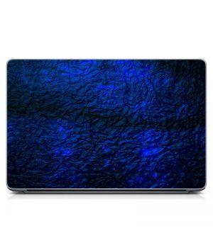 Виниловый стикер для ноутбука Синяя текстура Матовый