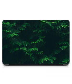 Стикер на ноутбук Сочная зелень Матовый