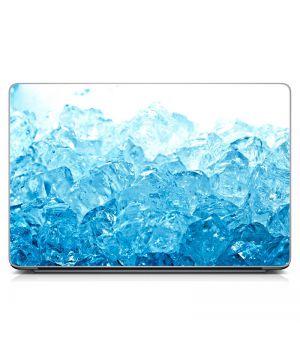 "Универсальная наклейка на ноутбук 15.6""-13.3"" Лед Матовый 380х250 мм"