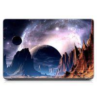 Виниловый стикер для ноутбука Космический пейзаж Матовый