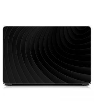 """Универсальная наклейка на ноутбук 15.6""""-13.3"""" Графит Матовый 380х250 мм"""