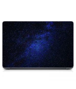 """Универсальная наклейка на ноутбук 15.6""""-13.3"""" Звездное небо Матовый 380х250 мм"""