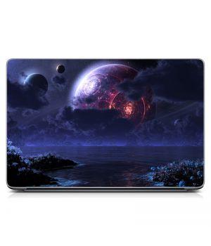 """Універсальна наклейка для ноутбука 15.6""""-13.3"""" Space Матова 380х250 мм"""