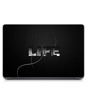 """Универсальная наклейка для ноутбука, 13.3""""-17.3"""" 400x260 мм Life Матовая"""