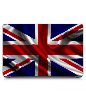 Виниловый стикер для ноутбука Флаг Британии Матовый