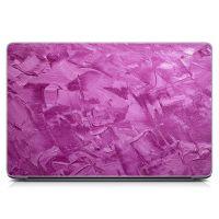 """Універсальна наклейка для ноутбука 15.6""""-13.3"""" Рожеві мазки фарби Матовий 380х250 мм"""