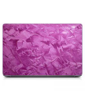 Стикер на ноутбук Розовые мазки краски Матовый