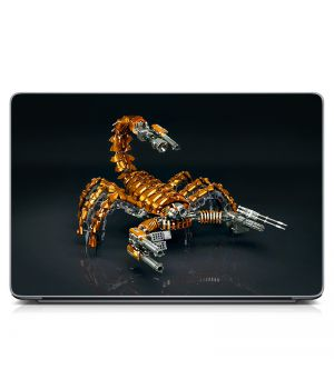"""Універсальна наклейка для ноутбука 15.6""""-13.3"""" Скорпіон Матова 380х250 мм"""