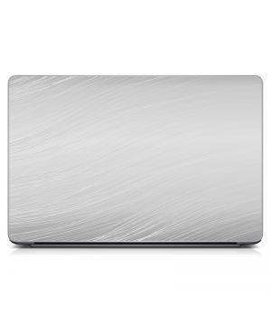 """Универсальная наклейка для ноутбука, 13.3""""-15.6"""" 380x250 мм Серый фон Матовая"""