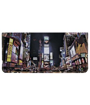 Портмоне v.2.0. 768 Нью Йорк, Таймс сквер ночью (эко-кожа)