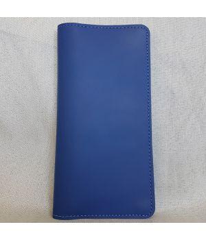 Портмоне v.2.0. синий (кожа)