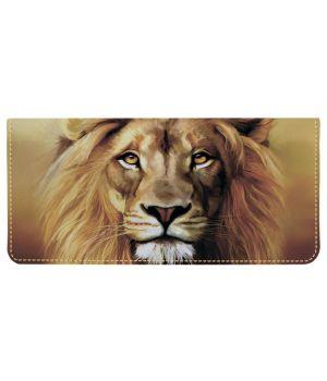 Портмоне v.2.0. 977 Царь всех зверей (эко-кожа)