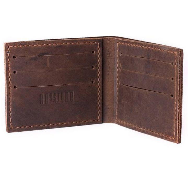 Бумажник мужской из натуральной кожи Heiseff