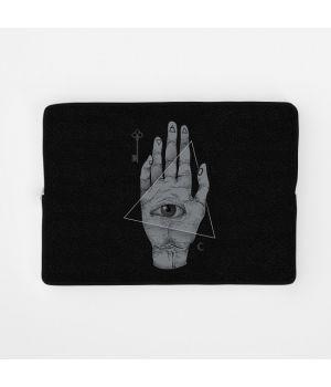 Стильный чехол для ноутбука Колдовская Рука