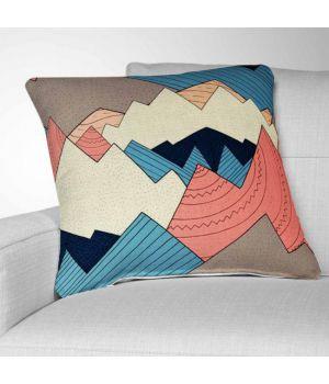 Декоративная подушка с рисунком Mountain Range