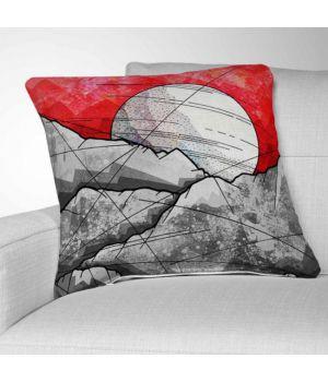 Декоративная подушка с рисунком The Grey Rocks