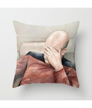 Подушка Picard Facepalm Meme