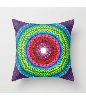 Подушка Mandala of Inner Peace